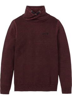 Мужские пуловеры Пуловер с шалевым воротником Bonprix