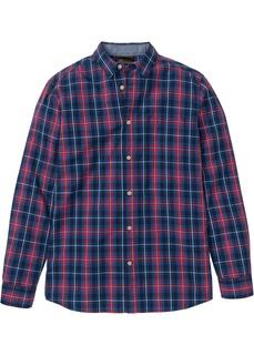Рубашки с длинным рукавом Рубашка с длинным рукавом, дизайн в клетку Bonprix