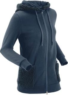 Флисовые куртки Куртка из плюшевого флиса Bonprix