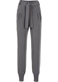 Повседневные брюки Брюки на эластичных манжетах Bonprix