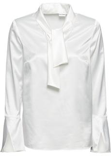 Блузки с длинным рукавом Блузка из сатина Bonprix