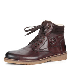 Ботинки Коричневые ботинки на высокой шнуровке Rieker