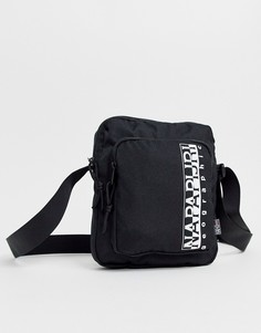Черная сумка через плечо Napapijri Happy - Черный