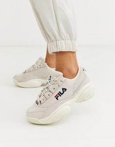 Светло-бежевые кроссовки Fila Provenance - Бежевый