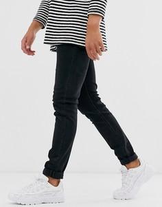 Черные зауженные джинсы Diesel - Sleenker-X (0870G - Черный