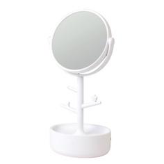 ЛЭтуаль Зеркало с подсветкой и контейнером для украшений ЛЭтуаль