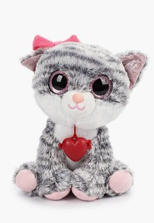 Игрушка мягкая Fancy Глазастик Кошечка, 24 см