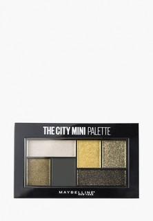 Палетка для глаз Maybelline New York The City Mini, оттенок 420, Urban Jungle, 6 гр