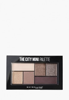 Палетка для глаз Maybelline New York The City Mini, оттенок 410, Chill Brunch Neutrals, 6 гр