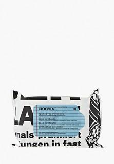 Салфетки для снятия макияжа Korres с молочными протеинами для всех типов кожи 25 шт