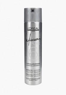 Лак для волос LOreal Professionnel INFINIUM PURE SOFT средней фиксации