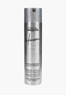 Лак для волос LOreal Professionnel INFINIUM PURE STRONG сильной фиксации