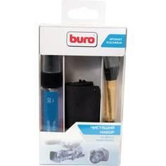 Чистящие средство Buro BU-Photo+Video комплект для очистки фото/видеотехники, салфетки, гель и кисточка