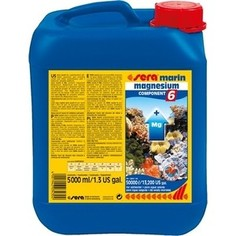 Препарат SERA MARINE MAGNESIUM COMPONENT 6 насыщение воды магнием для морских аквариумов 5л