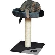 Когтеточка TRIXIE Tarifa столбик на подставке с площадкой для кошек 52см (43712)