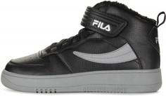 Кеды высокие утепленные для мальчиков Fila Fil Fur, размер 35
