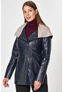 Куртка из натуральной кожи Снежная Королева