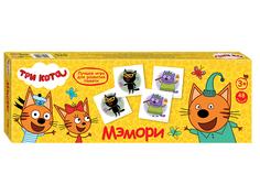 Настольная игра Step Puzzle Три кота 80210