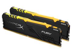 Модуль памяти Kingston HyperX Fury RGB DDR4 DIMM 3466Mhz PC-27733 CL16 - 32Gb Kit (2x16Gb) HX434C16FB3AK2/32