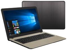 Ноутбук ASUS K540UA-DM2310T 90NB0HF1-M33320 (Intel Pentium 4417U 2.3 GHz/4096Mb/500Gb/No ODD/Intel HD Graphics/Wi-Fi/Cam/15.6/1920x1080/Windows 10 64-bit)