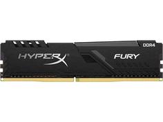 Модуль памяти Kingston HyperX Fury Black DDR4 DIMM 2666MHz PC4-21300 CL16 - 16Gb HX426C16FB3/16