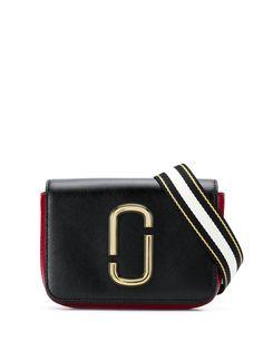 Marc Jacobs поясная сумка с аппликацией логотипа