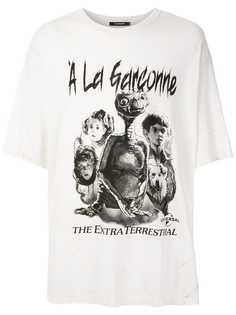 À La Garçonne футболка оверсайз с принтом Terrestrial