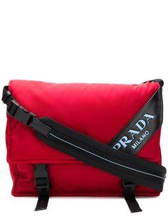 Prada сумка-мессенджер с логотипом