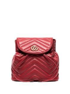 Gucci стеганый рюкзак Marmont