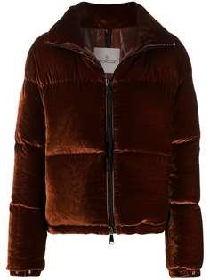 Moncler куртка-пуховик с высоким воротником