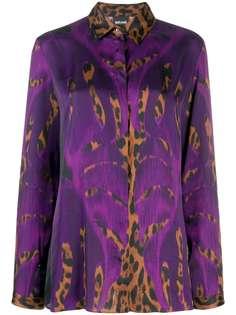 Just Cavalli блузка с леопардовым принтом