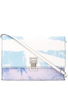Proenza Schouler джинсовая сумка с принтом тай-дай