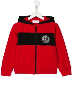 Roberto Cavalli Junior куртка-бомбер с логотипом