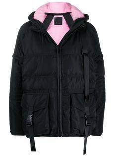 Pinko укороченная куртка-пуховик