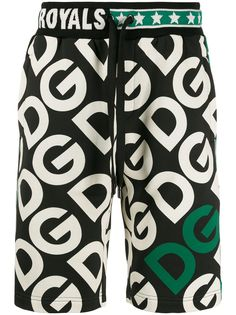Dolce & Gabbana шорты-бермуды с логотипом