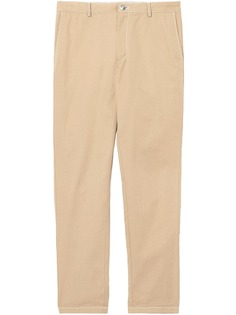 Burberry брюки чинос кроя слим