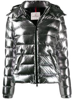Moncler пуховая куртка с карманами на молнии