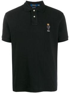 Polo Ralph Lauren рубашка-поло Bear с логотипом