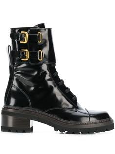 See by Chloé байкерские ботинки Mallory