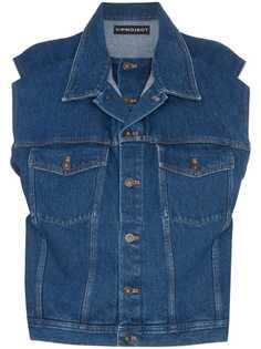 Y/Project джинсовая куртка без рукавов