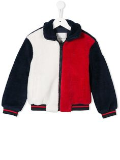 Tommy Hilfiger Junior куртка из искусственной овчины