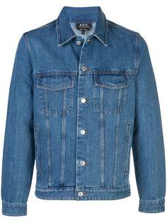 A.P.C. джинсовая куртка свободного кроя