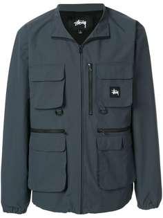 Stussy куртка в утилитарном стиле