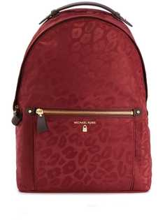 Michael Michael Kors рюкзак Kelsey с леопардовым принтом