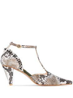 Reike Nen туфли со змеиным принтом