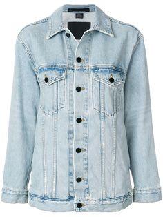 Alexander Wang джинсовая куртка свободного кроя