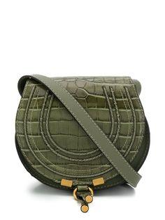 Chloé сумка Marcie с тиснением под крокодила