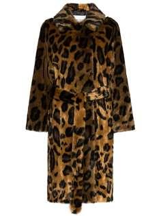 Stand Studio леопардовая шуба Irina из искусственного меха