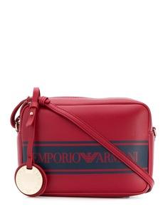 Emporio Armani сумка через плечо с логотипом