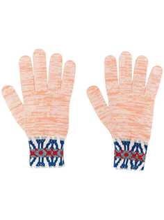 Missoni трикотажные перчатки с узором